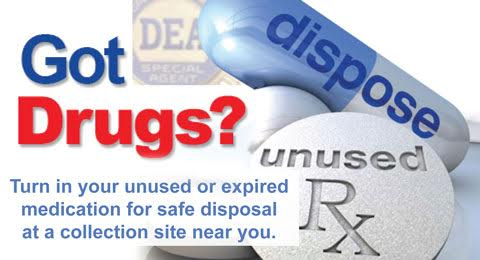 JUNE 4 IS MEDICATION TAKE BACK DAY IN ROCKLAND COUNTY