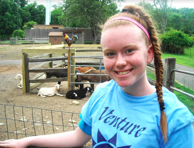 Volunteer of the Week: Claire Armstrong, Camp Venture Counselor in Stony Point