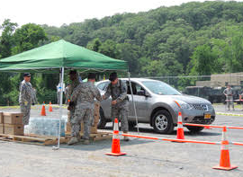 NY GUARD, STATE VOLUNTEER DEFENSE FORCE, CONDUCTS ANNUAL TRAINING AT CAMP SMITH