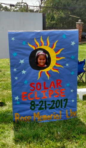 Rose Memorial Library Hosts a 'Solar Eclipse 8/21/17' Party for the Local Community