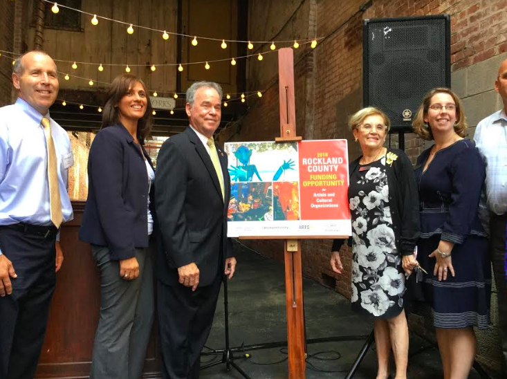 Rockland County Executive Ed Day Announces Funding for the Arts