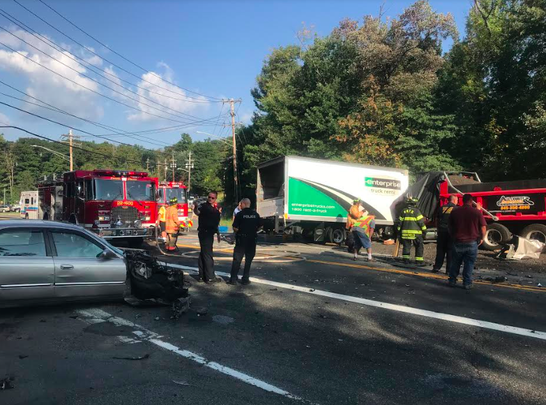 Fatal accidents on Rt. 303 and Rt. 304