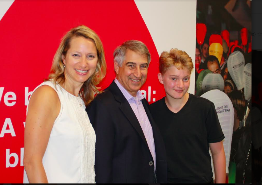 Local Teen and Cancer Survivor Named Honored Hero for Westchester/Rockland Light The Night Walk