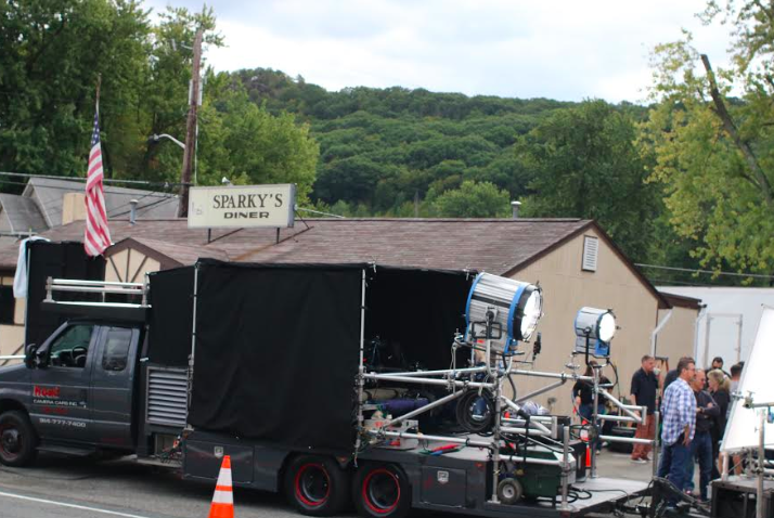 """Rise"" shoots scenes at Sparky's Diner in Garnerville, Union Restaurant"