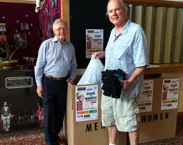 WESTCHESTER BROADWAY THEATRE CLOTHING DRIVE NOW THROUGH NOV. 22