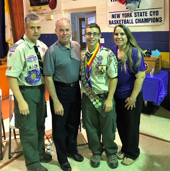 STONY PT. RESIDENTS EARN EAGLE SCOUT RANK