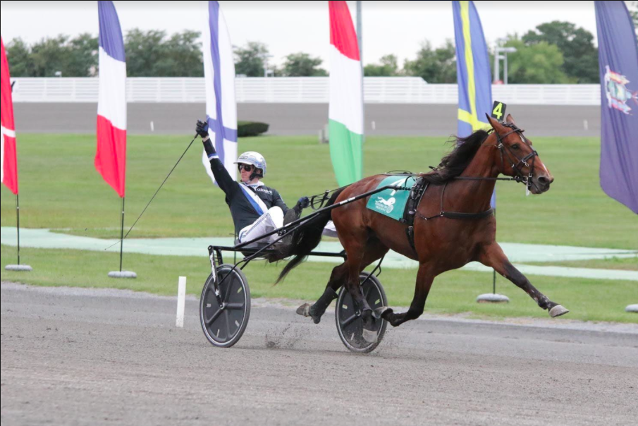 Italy's Twister Bi Sets World Record in $1 Million Yonkers International Trot at Empire City Casino on October 14