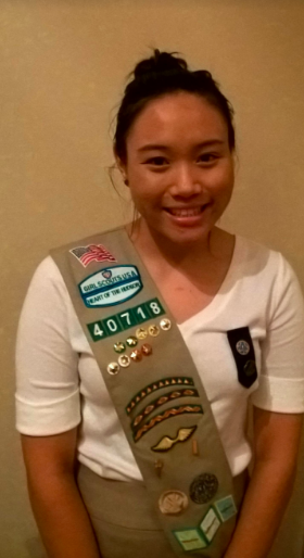MEET GIRL SCOUT GOLD AWARD WINNER MICHELLE TSANG