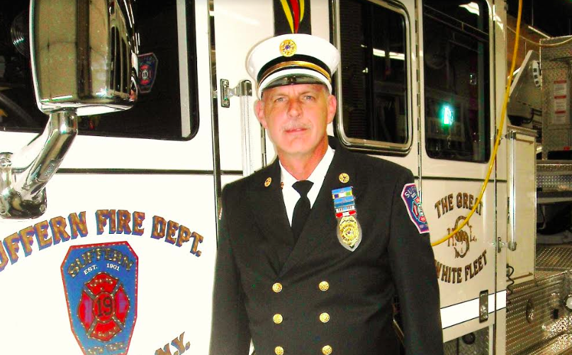 Unsung Hero: Michael Stark, Volunteer Firefighter, Suffern Hook and Ladder Co. No. 1
