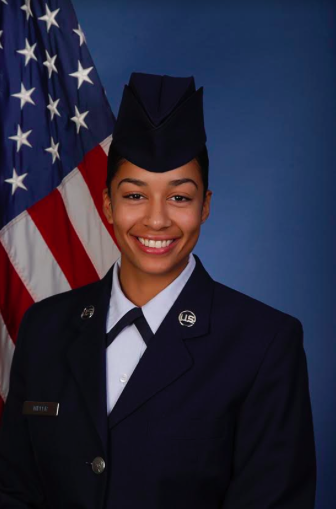NORTH ROCKLAND GRAD SETS HER EYES TO THE SKIES IN SERVICE OF NATION