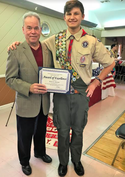 ROBERT REICHER EARNS RANK OF EAGLE SCOUT