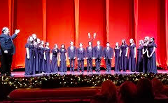 "TZHS CHORAL SINGERS PERFORM IN ""THE SOUNDS OF CHRISTMAS"" AT RADIO CITY"
