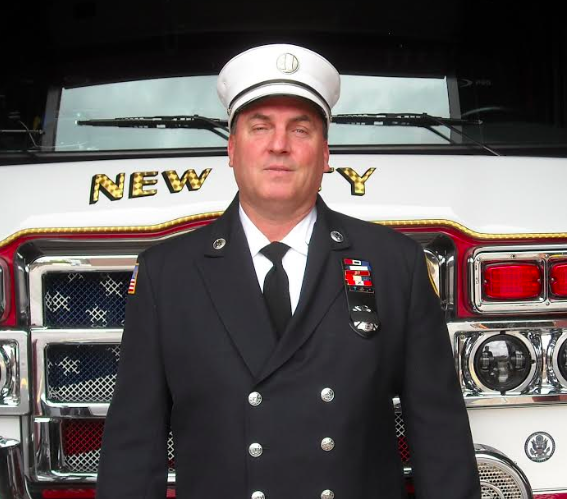 UNSUNG HEROES: Richard Willows, Volunteer Captain and Training Officer of the New City Fire Engine Company No. 1