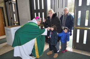 "NY ARCH DIOCESE AUXILIARY BISHOP VISITS PEARL RIVER FOR ""SCOUT SUNDAY"""