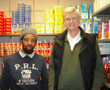 Volunteers of the Week: Michael VerSchneider and Richard George, RCC Food Cupboard