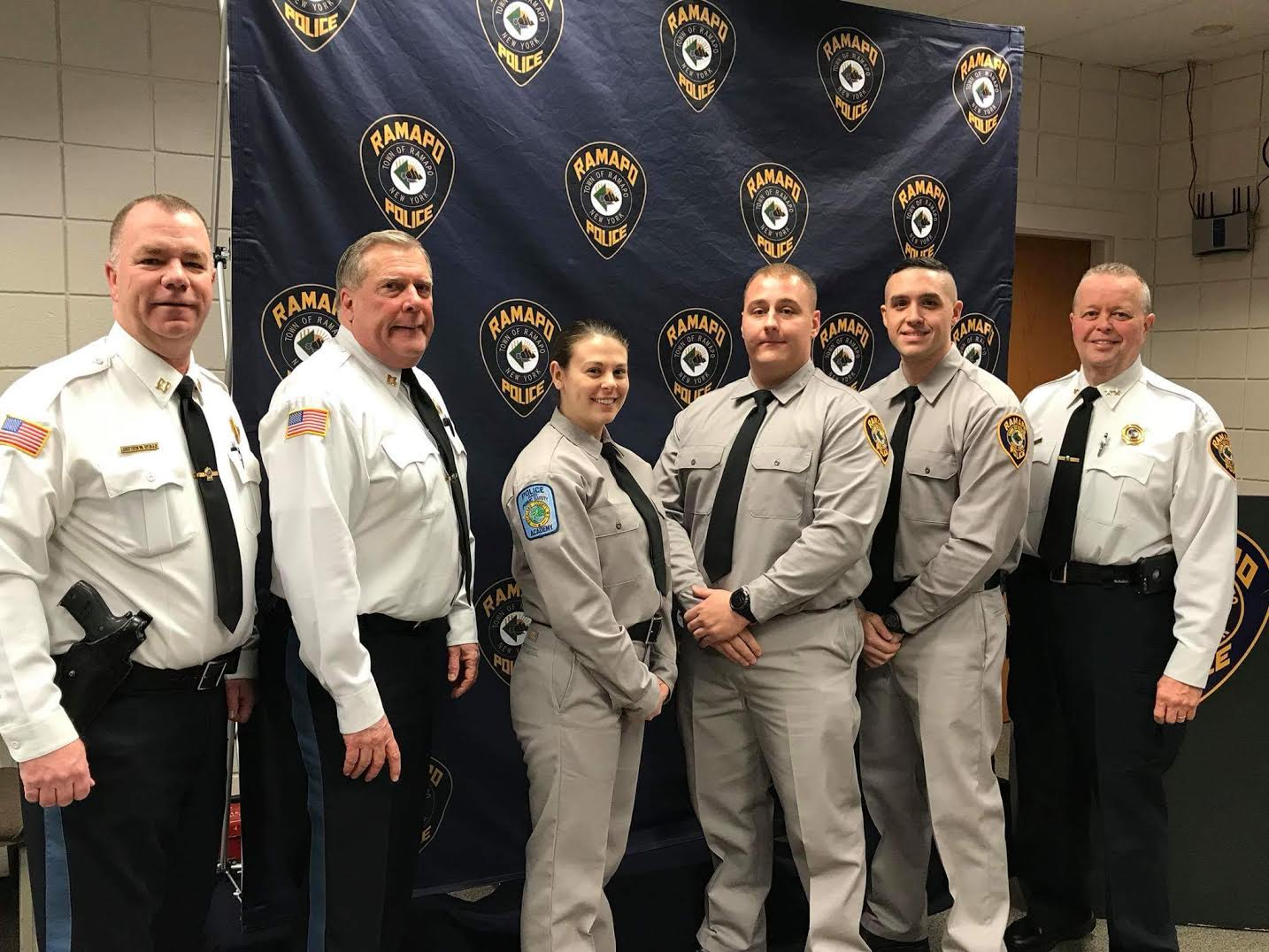Three new officers in Ramapo