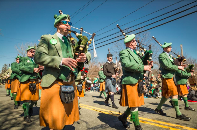 SCENES FROM THE PEARL RIVER ST. PATRICK'S DAY PARADE