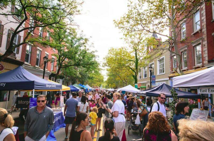 Nyack's 32nd Annual SpringFest Street Fair Welcomes the Warm Season ― Sunday, April 8