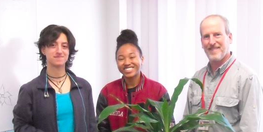Volunteers of the Week: Ruth Uriarte & Jeriyla Kamau-Weng, Nyack High School Environmental Club