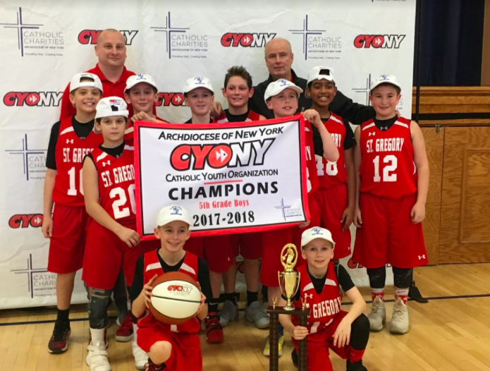 Congrats to St.Gregory CYO State Champs
