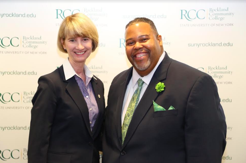 SUNY Chancellor Dr. Kristina M. Johnson visits RCC