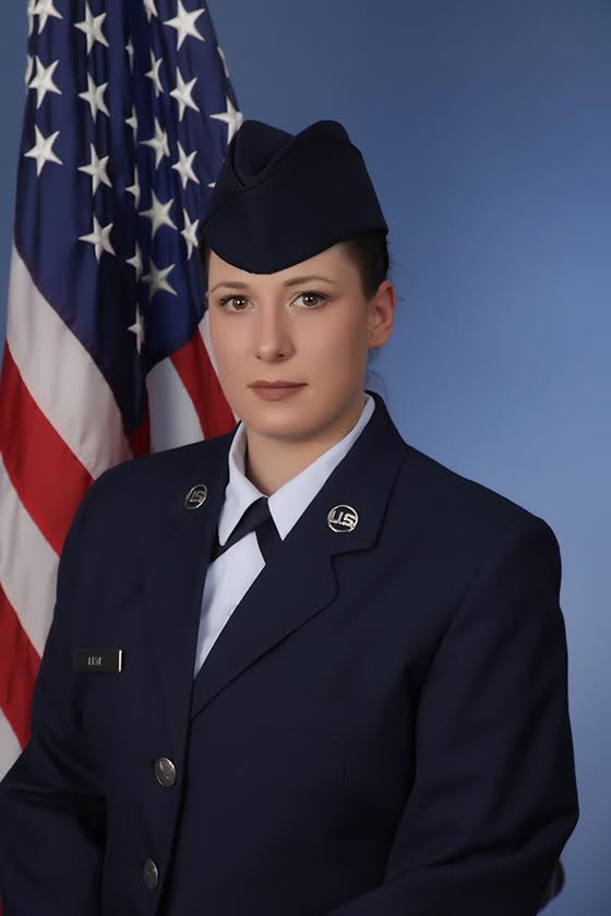 Airman Lindsey Frye graduates basic training