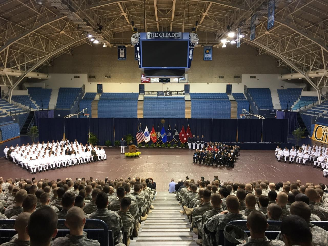 STONY POINT WOMAN RECOGNIZED FOR PARTICIPATION IN CITADEL'S ROTC PROGRAM