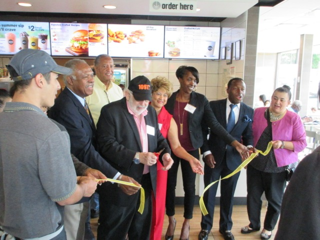 Fast food meets 21st century at McDonald's Spring Valley