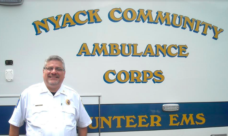 Unsung Hero: Paul Morer, Volunteer Chief 0f the Nyack Community Ambulance Corps
