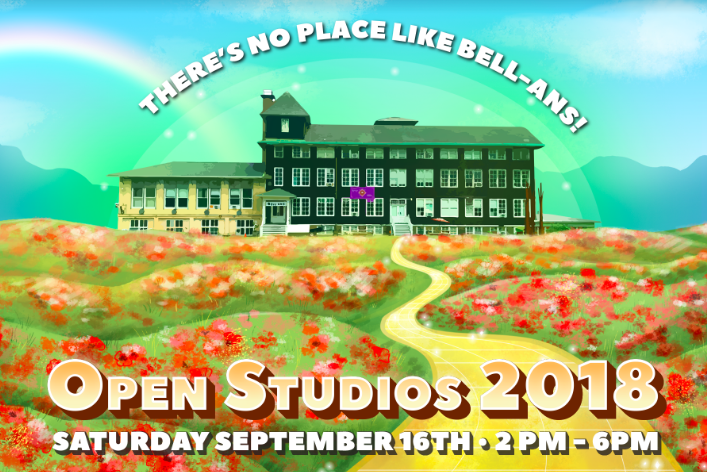 Inside Artist Studios, Children's Shakespeare Theater and a one-year old Playful Yoga Space at Bell-ans