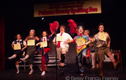 "The Antrim Players present ""The 25th Annual Putnam County Spelling Bee"""