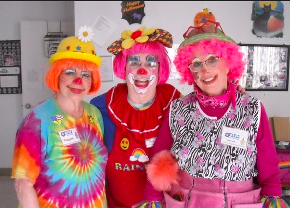 Volunteers of the Week: RSVP Clowns Perform at St. Zita's Assisted Living Facility in Monsey