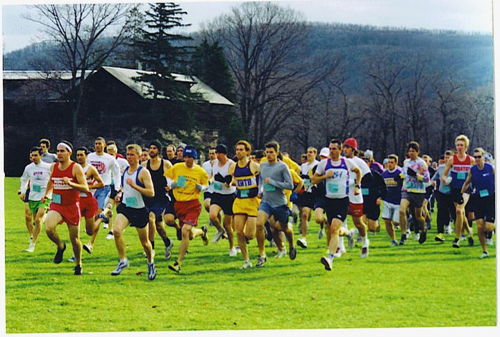 Icy Course? Alumni Runners Take Conditions in Stride at Bear Mountain
