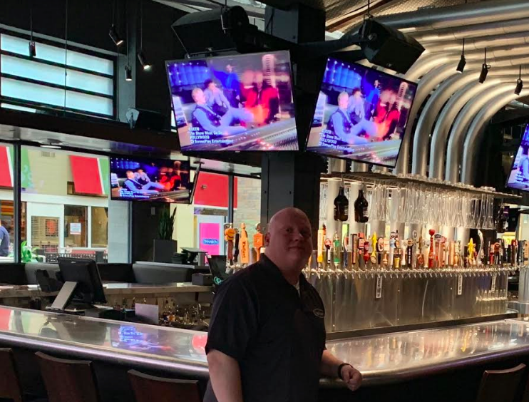 Past Dishwasher, Anthony Nielsen, Quickly Builds His Way up to General Manager at Yard House in West Nyack