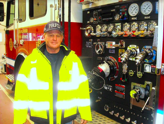 Unsung Hero: Cory Clarkston, Chauffeur-Engineer, Pearl River Volunteer Fire Department