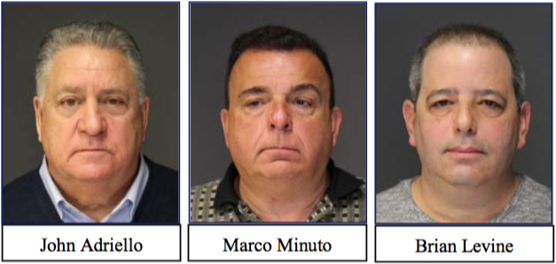 THREE CHARGED IN MOB-CONTROLLED SPORTS BETTING OPERATION
