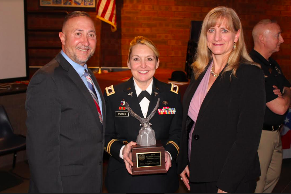 Seventh Annual Freedom Award Presented