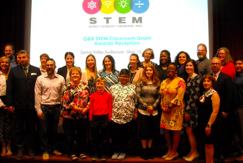 2019 Orange & Rockland STEM Classroom Grant Awards