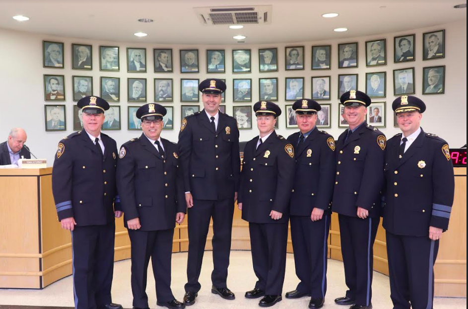 Town of Ramapo Police Department held a promotional ceremony