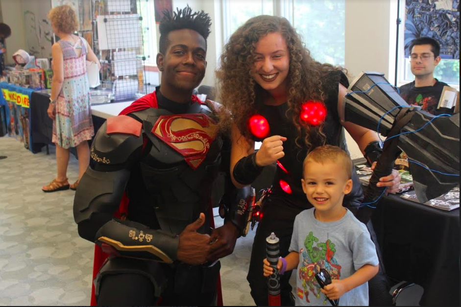 HAVERSTRAW KINGS DAUGHTERS' LIBRARY SPENDS A DAY VISITING THE WORLDS OF FANTASY AND SCI FI