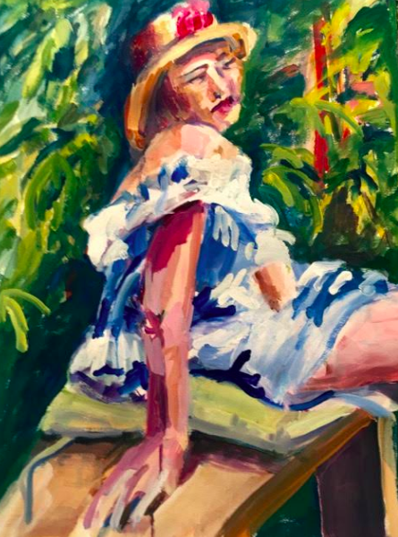 """Joyce Kanyuk """"It's All About the Figure"""" At the Piermont Fine Arts Gallery"""