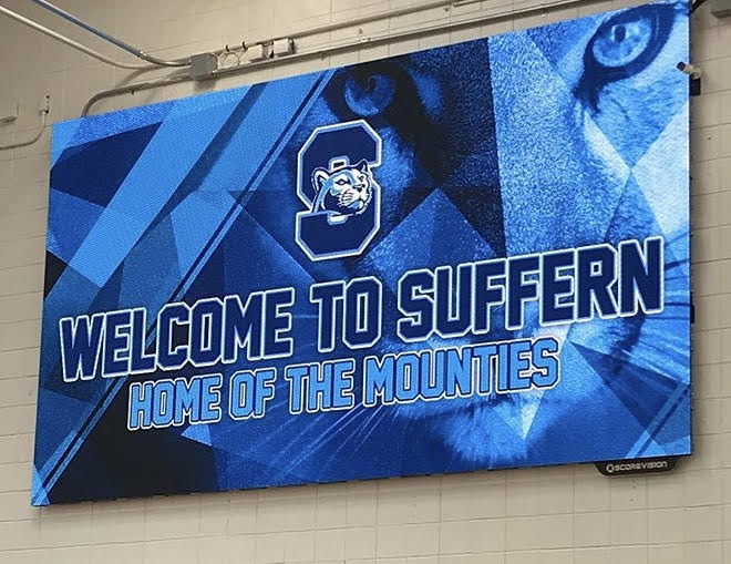 Jumbotrons at Suffern HS