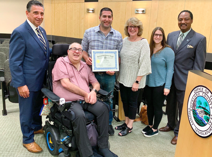 Honoring Advocate For The Physically Disabled