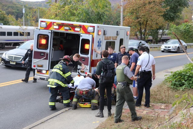 Suffern First Responders Rescue Injured Hiker