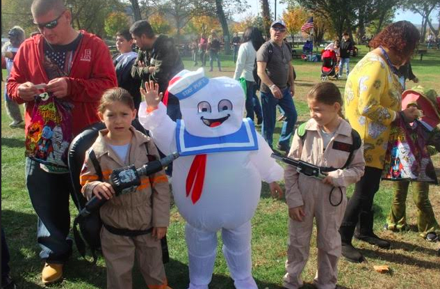 HALLOWEEN COMES TO BOWLINE PARK EARLY