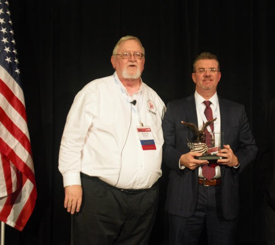 Anchor Trading, based in New City, wins National Award for 2019 Veteran-owned Business of the Year