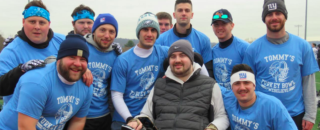 4th Annual Tommy's Turkey Bowl Football Tournament Held at Clarkstown South