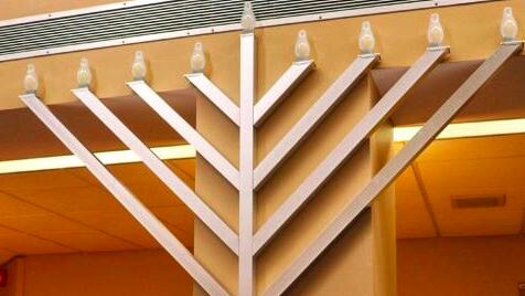 Good Sam lights new menorah