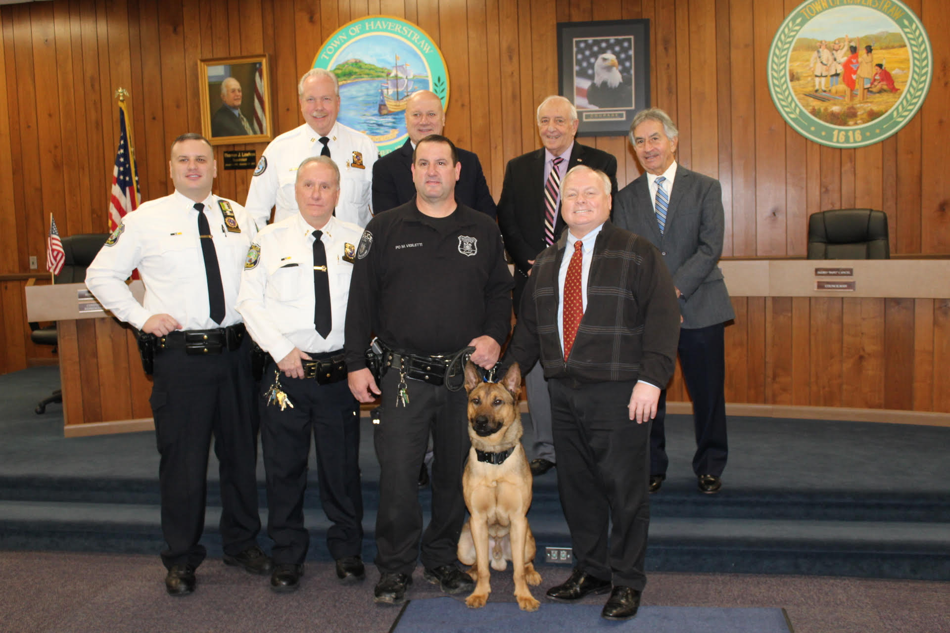 Haverstraw hires new K-9 officer