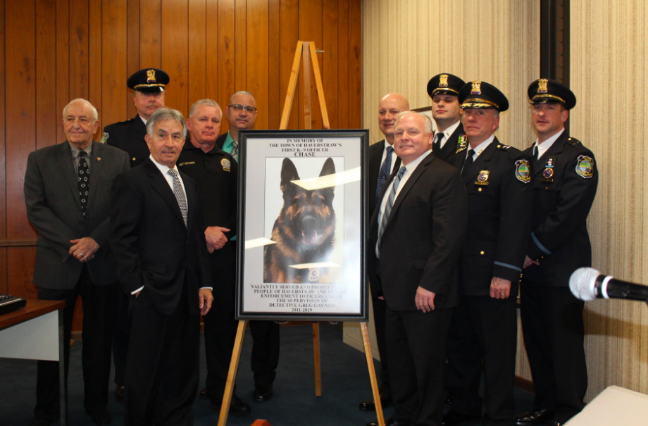 Police Promotions and K-9 Chase Remembered